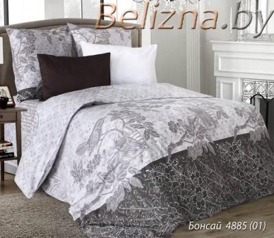 Двуспальное постельное белье «Бонсай 4885»