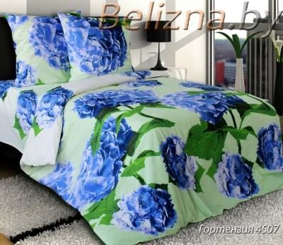 Двуспальное постельное белье «Гортензия»