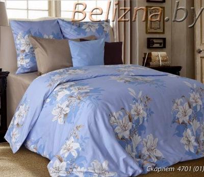 Двуспальное постельное белье из бязи «Скарлет»