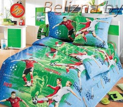 Детское постельное белье «Футбол»