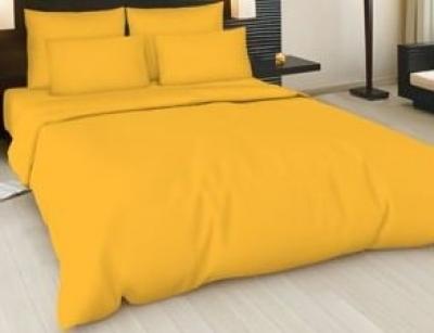 Простынь на резинке 90x200 «Ярко-желтая»