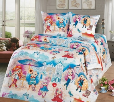 Полуторное постельное белье «Бэль»