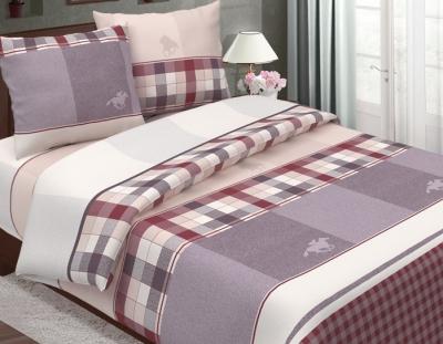 Полуторное постельное белье из бязи «Поло»