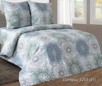 Полуторное постельное белье из бязи «Солярис»