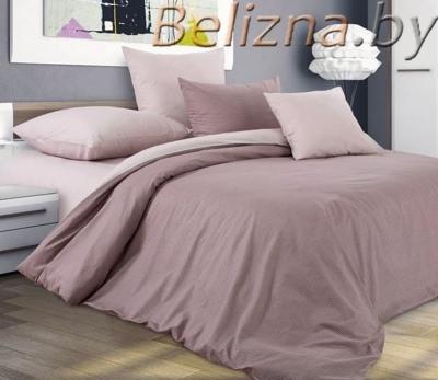 Полуторное постельное белье из поплина «Утренний Кофе»