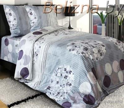 Полуторное постельное белье «Контраст»