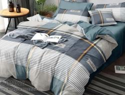 Двуспальное постельное белье из поплина «0528»