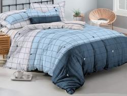 Двуспальное постельное белье из поплина «1013»