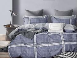 Семейное постельное белье ДУЭТ из поплина «12-25»