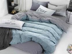 Двуспальное постельное белье из поплина «1738»
