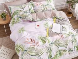 Двуспальное постельное белье из поплина «1739»