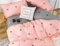 Двуспальное постельное белье из поплина «1809»