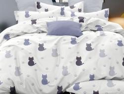 Двуспальное постельное белье из поплина «28348»