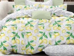 Двуспальное постельное белье из поплина «28355»