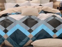 Двуспальное постельное белье из поплина «2836»