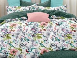 Двуспальное постельное белье из поплина «28382»