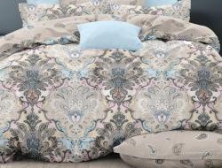 Двуспальное постельное белье из поплина «28409»