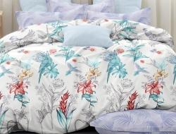 Двуспальное постельное белье из поплина «28415»