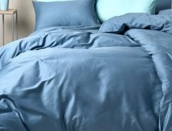 Семейное постельное белье ДУЭТ из сатина «335»