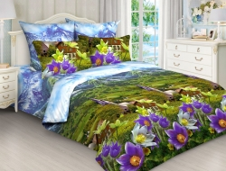 Двуспальное постельное белье 3D «4228»