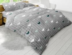 Полуторное постельное белье из бязи «5864-01»