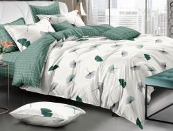 Полуторное постельное белье из поплина «70271»