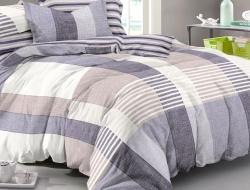 Семейное постельное белье ДУЭТ из поплина «976»