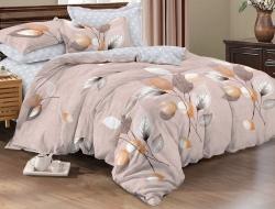 Двуспальное постельное белье из поплина «977»