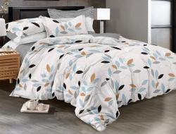 Двуспальное постельное белье из поплина «978»