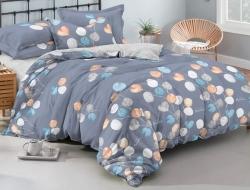 Полуторное постельное белье из поплина «997»