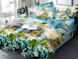 Двуспальное постельное белье из поплина «IM0494»