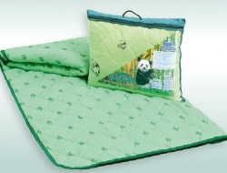 Облегченное полуторное одеяло 140х205 Nesaden  «Бамбук-полиэстер»