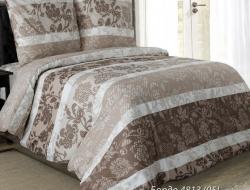 Семейное постельное белье ДУЭТ из бязи «Бордо-05»