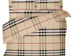 Семейное постельное белье ДУЭТ «Burberry (Барберри)»