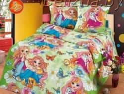 Детское постельное белье 3D «Подружки»