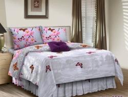 Двуспальное постельное белье из бязи «555»