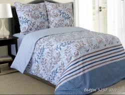Двуспальное постельное белье из бязи «Бьерн»