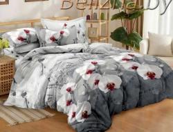 Двуспальное постельное белье из поплина «70059»