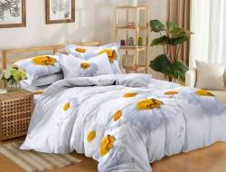 Двуспальное постельное белье из поплина «70171»