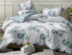 Двуспальное постельное белье из поплина «IM0443»