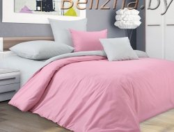Двуспальное постельное белье из поплина «Воздушный поцелуй»