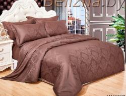 Двуспальное постельное белье из сатин-жаккарда «H160527»