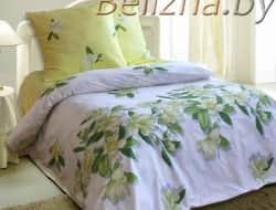 Двуспальное постельное белье «Магнолия»
