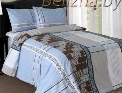 Двуспальное постельное белье «Меандр»