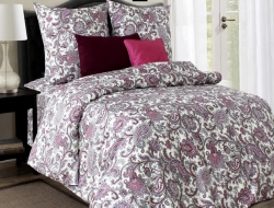 Двуспальное постельное белье «Восточная роскошь красная»