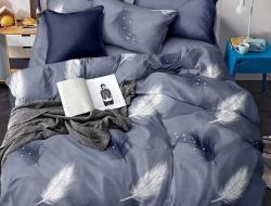 Полуторное постельное белье из поплина «H29»