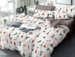 Двуспальное постельное белье из поплина «IM0504»