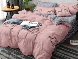 Двуспальное постельное белье из поплина «IM0515»