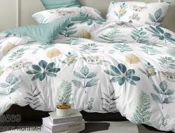 Двуспальное постельное белье из поплина «IM0569»