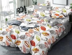 Полуторное постельное белье из поплина «IM0640»